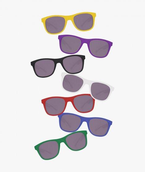 Gafas de sol en colores variados